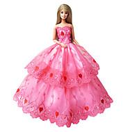 Prinsesse Kjoler Til Barbiedukke Kjoler Til Pigens Dukke Legetøj