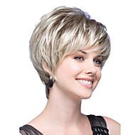 Synthetische Perücken Glatt Stil Bob Bubikopf Perücke Blond Blondine Synthetische Haare Damen Blond Perücke Kurz Halloween Perücke