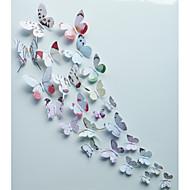 preiswerte -Tiere / Romantik / Mode / Blumen / Formen / 3D Wand-Sticker 3D Wand Sticker,pvc 15*15cm