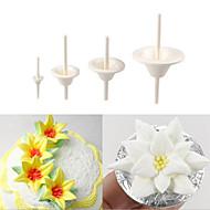 billige Bakeredskap-Stativer Blomst For Kake Plast