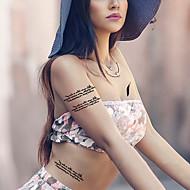 billiga Tatuering och body art-5 Tecknat Temporära färger Klassisk Hög kvalitet Dagligen