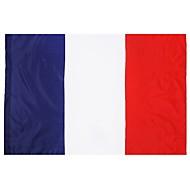 halpa -Ranska flag 3ft x 5ft 100% polyester french lippuja ja banderolleja ulkona sisätiloissa 150x90cm juhlaan iso lippu