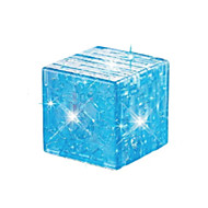 Blocos de Construir Cubos Mágicos Quebra-Cabeças 3D Quebra-Cabeça Quebra-Cabeças de Cristal Brinquedos 3D Faça Você Mesmo Infantil Peças