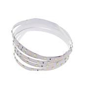 Χαμηλού Κόστους Φώτα LED-SENCART 1m Ευέλικτες LED Φωτολωρίδες 60 LEDs 3528 SMD Θερμό Λευκό / RGB / Άσπρο Μπορεί να κοπεί / Με ροοστάτη / Συνδέσιμο 12 V / IP65 / Κατάλληλο για Οχήματα / Αυτοκόλλητο