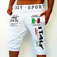 ieftine -Bărbați Activ / De Bază Bumbac Pantaloni Sport / Relaxat Pantaloni Scrisă