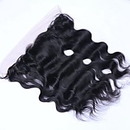 Virgin Brazilian full Lace Frontal Closure 13x4 Ear to Ear Lace Frontal With Baby Hair free/middle/3 part