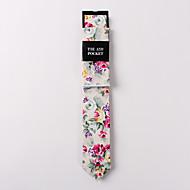 Krawat-Dla mężczyzn-Na co dzień-Bawełna-Nadruk