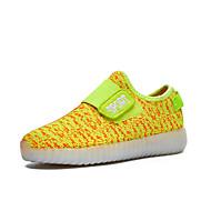 baratos Sapatos de Menino-Para Meninos / Para Meninas Sapatos Tecido Primavera Conforto / Tênis com LED Tênis Velcro / LED para Vermelho / Verde / Azul