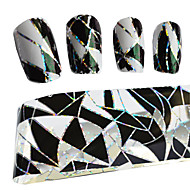 100cmx4cm Thermal Transfer Foil Poland Manicure Fashion Tips DIY Decorative Nail Stickers Stzxk11