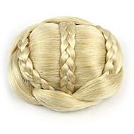 זהב מסולסל קינקי chignons פאות בלי כומתה, שיער אדם כלת אירופה sp-189 1003