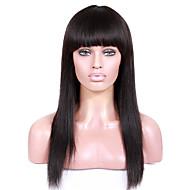 Ženy Paruky z přírodních vlasů Brazilské Remy Se síťkou Se síťovanou přední částí Celokrajkové Krajka vpředu 130% 150% 180% Hustota S