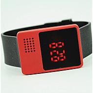 billige Sportsur-Herre Quartz Armbåndsur Hot Salg Silikone Bånd Vedhæng Mode Sort Hvid Blåt Rød Grøn Pink Lilla Gul