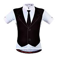 WOSAWE Muškarci Žene Kratkih rukava Biciklistička majica - Bule/crna Bicikl Biciklistička majica, Quick dry, Prozračnost,
