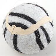 犬のためのテニスボールのおもちゃ(4 x奥行4cm、分類された色)
