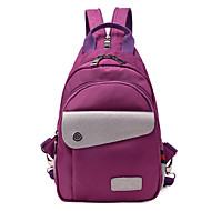 Women Bags All Seasons Nylon Backpack for Casual Black Purple Blue Grey Watermelon
