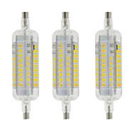 billige Kornpærer med LED-YWXLIGHT® 3pcs 4W 350-400lm R7S LED-kornpærer T 60 LED perler SMD 2835 Vanntett Dekorativ Varm hvit Kjølig hvit 220-240V