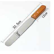 cheap Baking & Pastry Spatulas-Baking & Pastry Spatula For Pizza For Cake For Bread Stainless Steel Wood High Quality
