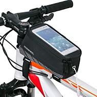 ROSWHEEL Bolsa para Quadro de Bicicleta Bolsa Celular 4.8 polegada Prova-de-Água Zíper á Prova-de-Água Vestível Resistente ao Choque