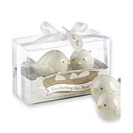 お買い得  アイデア引出物-愛の鳥の塩と胡椒のシェーカーキッチン結婚式の好意結婚式の好意