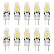 2W G4 LED Bi-pin 조명 T 6 LED가 SMD 5733 장식 따뜻한 화이트 차가운 화이트 150-200lm 3000/6000K DC 12V