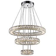 billige Takbelysning og vifter-Lysekroner Omgivelseslys galvanisert Metall Krystall, LED 110-120V / 220-240V Varm Hvit / Kald Hvit LED lyskilde inkludert / Integrert LED