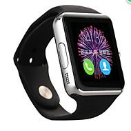 tanie Inteligentne zegarki-Inteligentny zegarek na iOS / Android Spalone kalorie / Odbieranie bez użycia rąk / Kamera / aparat Powiadamianie o połączeniu telefonicznym / Rejestrator snu / siedzący Przypomnienie / Budzik