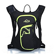 12l L Cycling Backpack Backpack for Leisure Sports Traveling Running Sports Bag Reflective Strip Waterproof Wearable Multifunctional