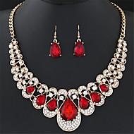 Γυναικεία Cubic Zirconia Κοσμήματα Σετ Ζιρκονίτης Κρεμαστό, Λουλούδι Μοντέρνο, Εξατομικευόμενο, Πολυτέλεια, Κλασσικό, Βασικό, μινιμαλιστικό στυλ Περιλαμβάνω / Κουμπωτά Σκουλαρίκια / Κρεμαστά Κολιέ