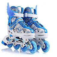 お買い得  男性用靴-男女兼用 靴 オーダーメイド素材 春 秋 ローラースケートシューズ スニーカー スケートシューズ かぎホック ゴア のために ブルー ピンク