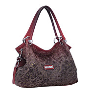 Women Bags All Seasons PU Shoulder Bag Tote for Shopping Casual Formal Office & Career Gray Red Blue Pink Khaki