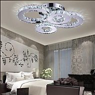 LED Crystal Lamp Atmosphere Living Room Lamp Creative Ceiling Lamp Bedroom Lamp Deluxe Round Hall Lamp Room Lamp 8806