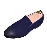 ieftine -Bărbați Pantofi Lână Vară Confortabili Mocasini & Balerini Pentru Casual Negru Gri Albastru