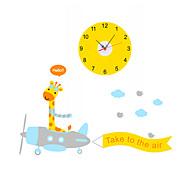 Rund / Nyhet Moderne / Nutidig / Tradisjonell / Avslappet / Kontor / Bedrift Wall Clock,Dyr / Familie / Cartoon Andre 90*30*0.1