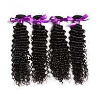Malaysian Deep Wave Hair Weaves 1pcs 100g/pcs Malaysian Virgin Hair Weft Human Hair Extensions Weft 6A
