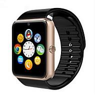 Herrn Uhr Smartwatch Digital Caucho Schwarz Touchscreen Alarm Kalender digital Luxus Gold Schwarz Silber / Fernbedienungskontrolle / Schrittzähler / Fitness Tracker / Stopuhr