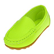 baratos Sapatos de Menina-Unisexo Sapatos Courino Primavera Verão Rasos para Rosa claro / Verde Claro / Azul Real / Festas & Noite