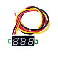 0.28 inç mini dc2.5-30v voltluk gerilim metre ekran dijital voltmetre led