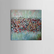 Hand-Painted Abstract Fantasy Modern Thick Oil Painting On Canvas One Panel With Frame Ready To Hang
