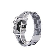 billiga Smart klocka Tillbehör-Milanisk slinga för äpple klocka 38mm 42mm rostfritt stål ersättningsband
