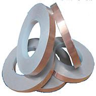 fabricantes de alta qualidade fita de cobre de cobre folha de fita de limpeza fita adesiva 10 milímetros ambiental * 30 mi