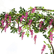 Artificial Flowers 1 Branch Pastoral Style Violet Wall Flower