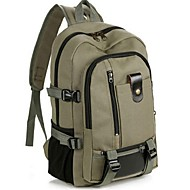 Men Bags All Seasons Canvas Backpack for Casual Black Coffee Brown Army Green Khaki