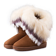 Women's Boots Fall / Winter Snow Boots Leatherette Outdoor / Casual Flat Heel   Pink Snow Boots