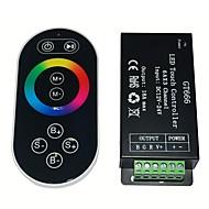rf fjernberørings rgb controller dc12-24v max 18a