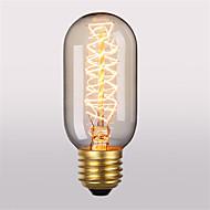 billige Glødelampe-T45 E27 40W gløde lyspærer antikke vintage retro Edison lyspærer (220-240)