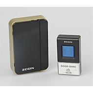hjem digital trådløs fjernkontroll doorbell husholdning ac elektronisk ringeklokke vanntett