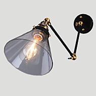 billige Krystall Vegglys-Rustikk / Hytte Swing Arm Lights Metall Vegglampe Max 60W / E26 / E27