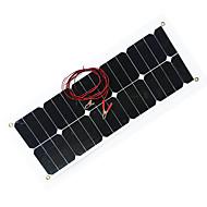zdm® 30w 12v de ieșire panou solar 1.6a siliciu monocristalin (dc12-18v)