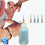 ハロウィーンヘナアプリケーター一時的なタトゥーキットボディインクハーブの一時的な刺青