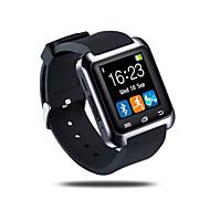 billige Smartklokker-Smartklokke iOS / Android Pekeskjerm / Pedometere / Distanse måling Aktivitetsmonitor / Søvnmonitor / Finn min enhet / 64MB
